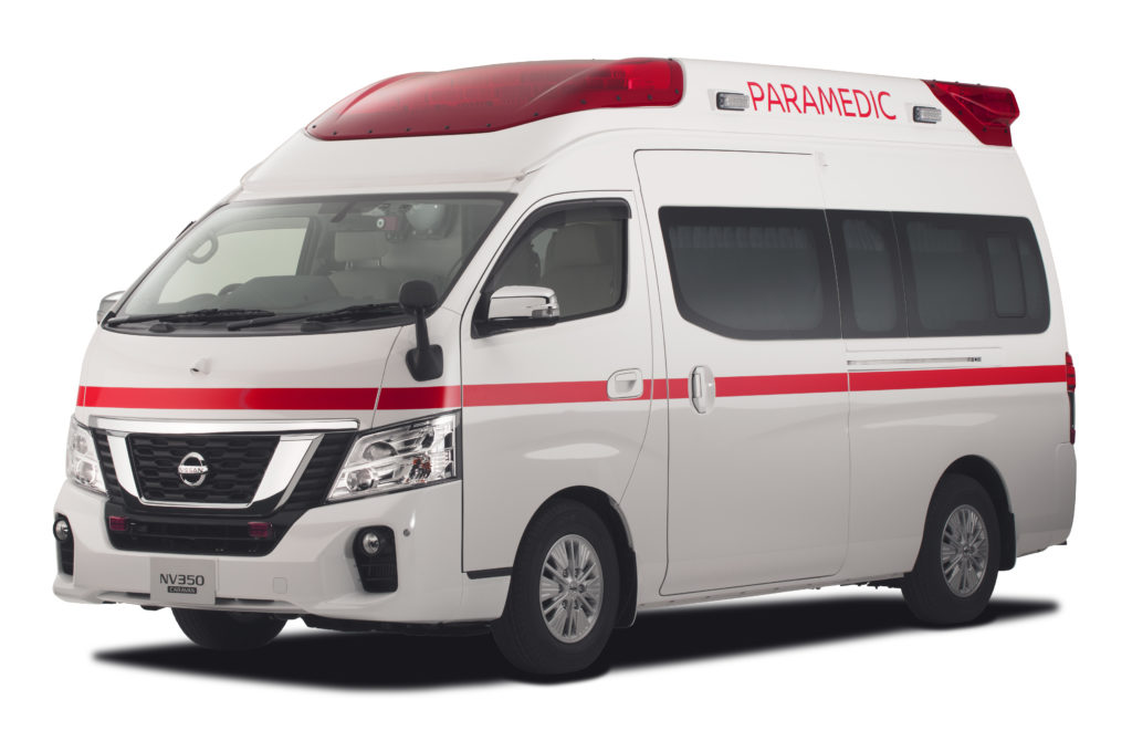Packed with new technologies and features, the new Paramedic Concept will be Nissan's fifth-generation ambulance and builds on the success of the previous versions, which are sold exclusively in Japan.