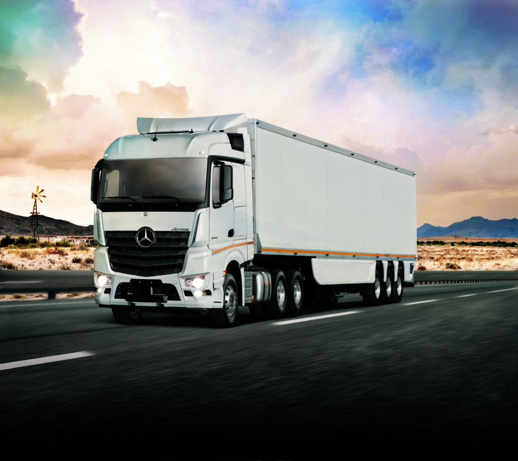 Mercedes-Benz Trucks Launches New Actros In South Africa