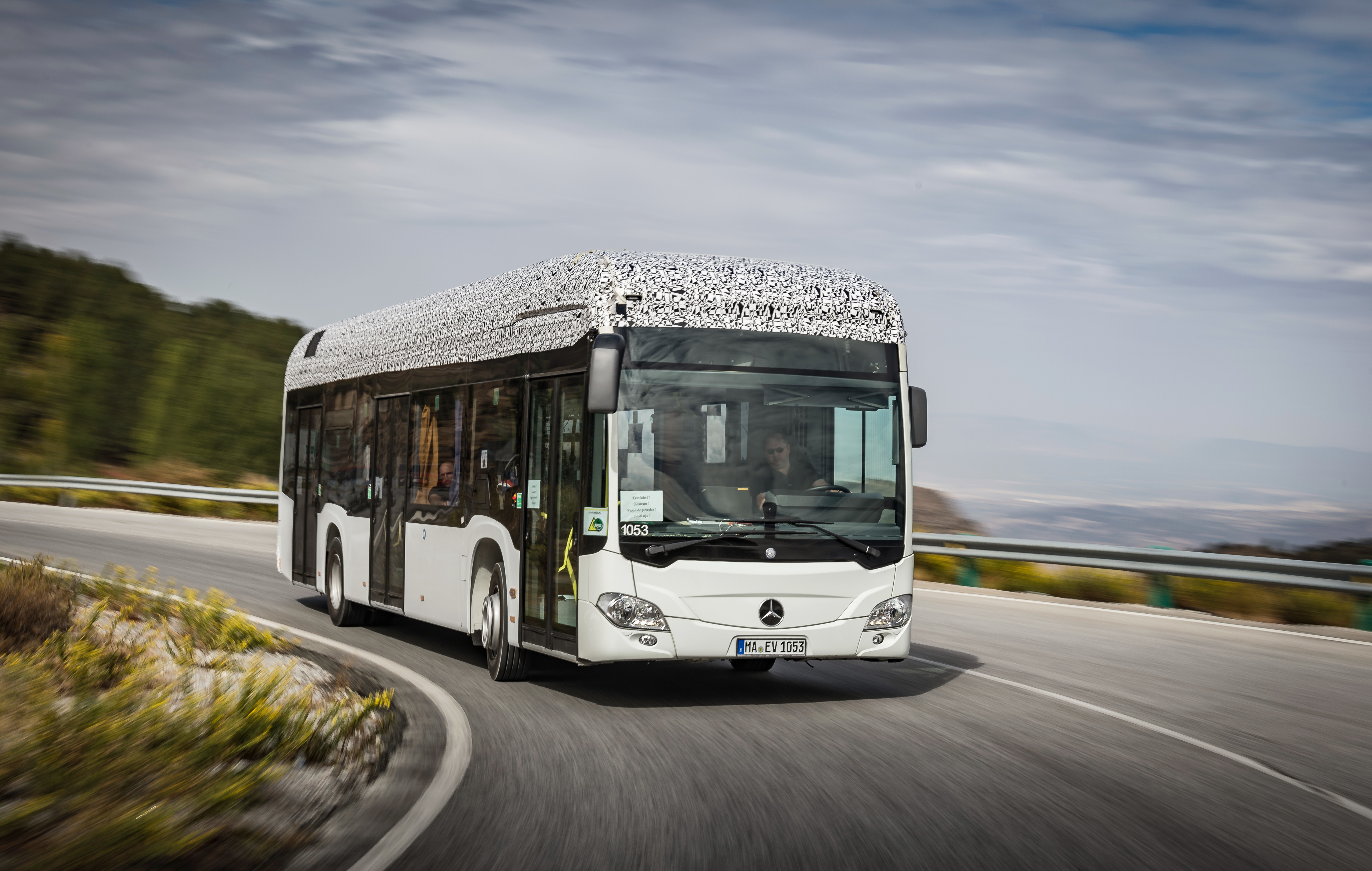 First Customer For Mercedes Benz Citaro Fully‑electric City Bus Future Trucking Amp Logistics
