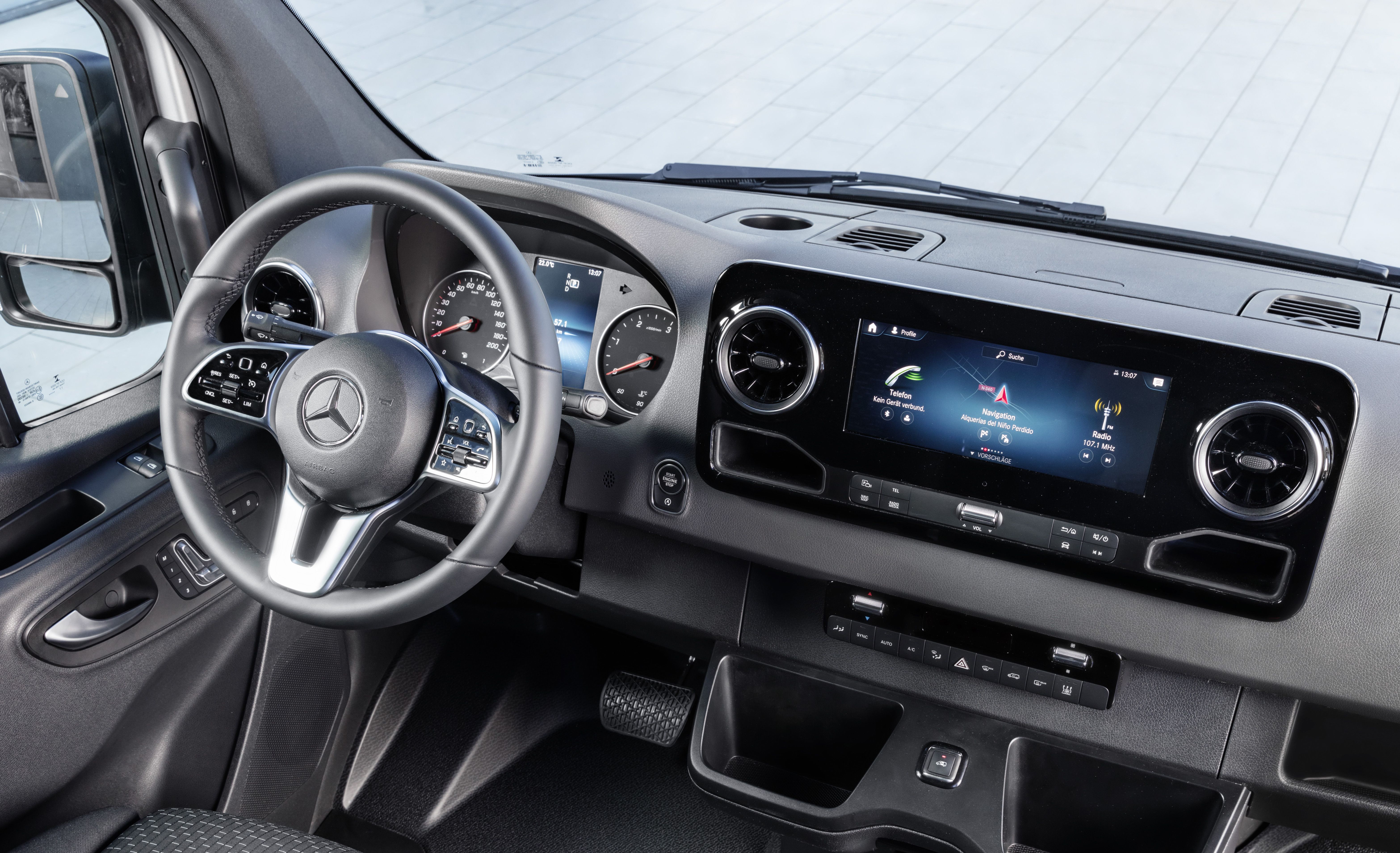 Mercedes-Benz launches new, fully connected, Sprinter | Future ...