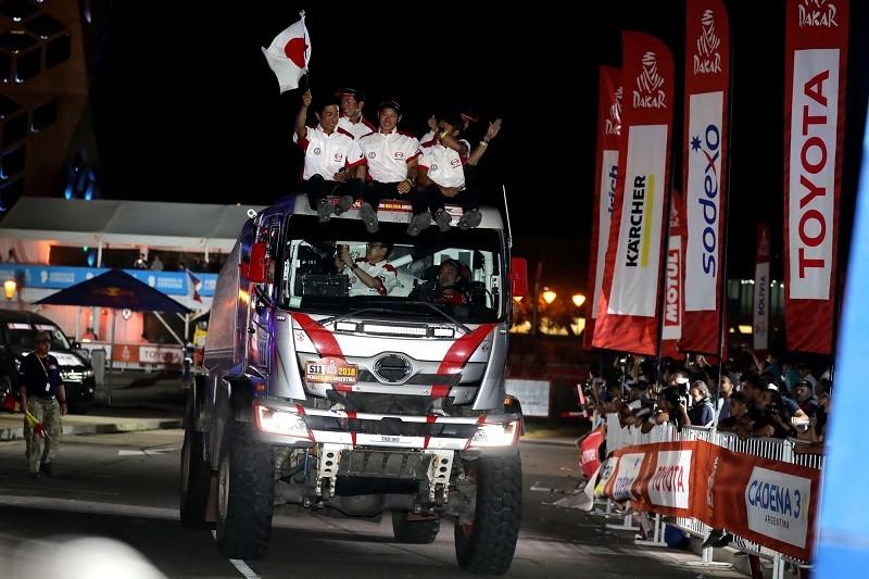 DakarRally2018 - Victory drive