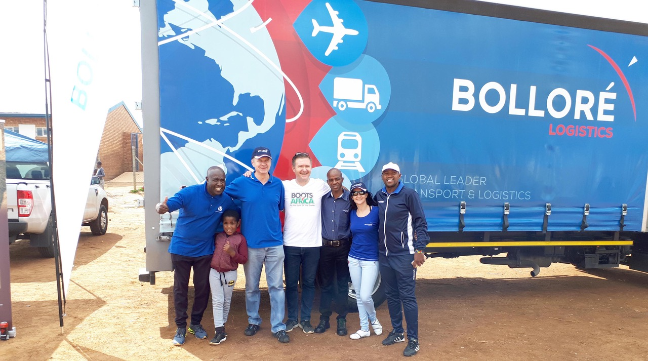Bolloré Logistics Partners with Boots for Africa in Donation