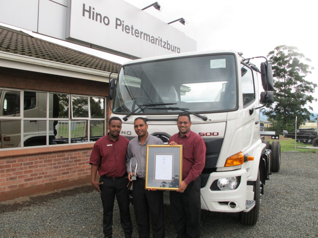 Hino PMB with truck